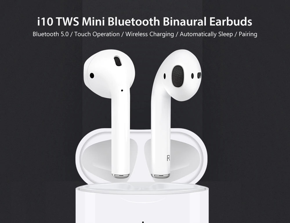 i10 tws true bluetooth earphones