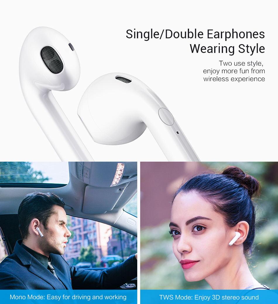 i9s tws bluetooth wireless earphones