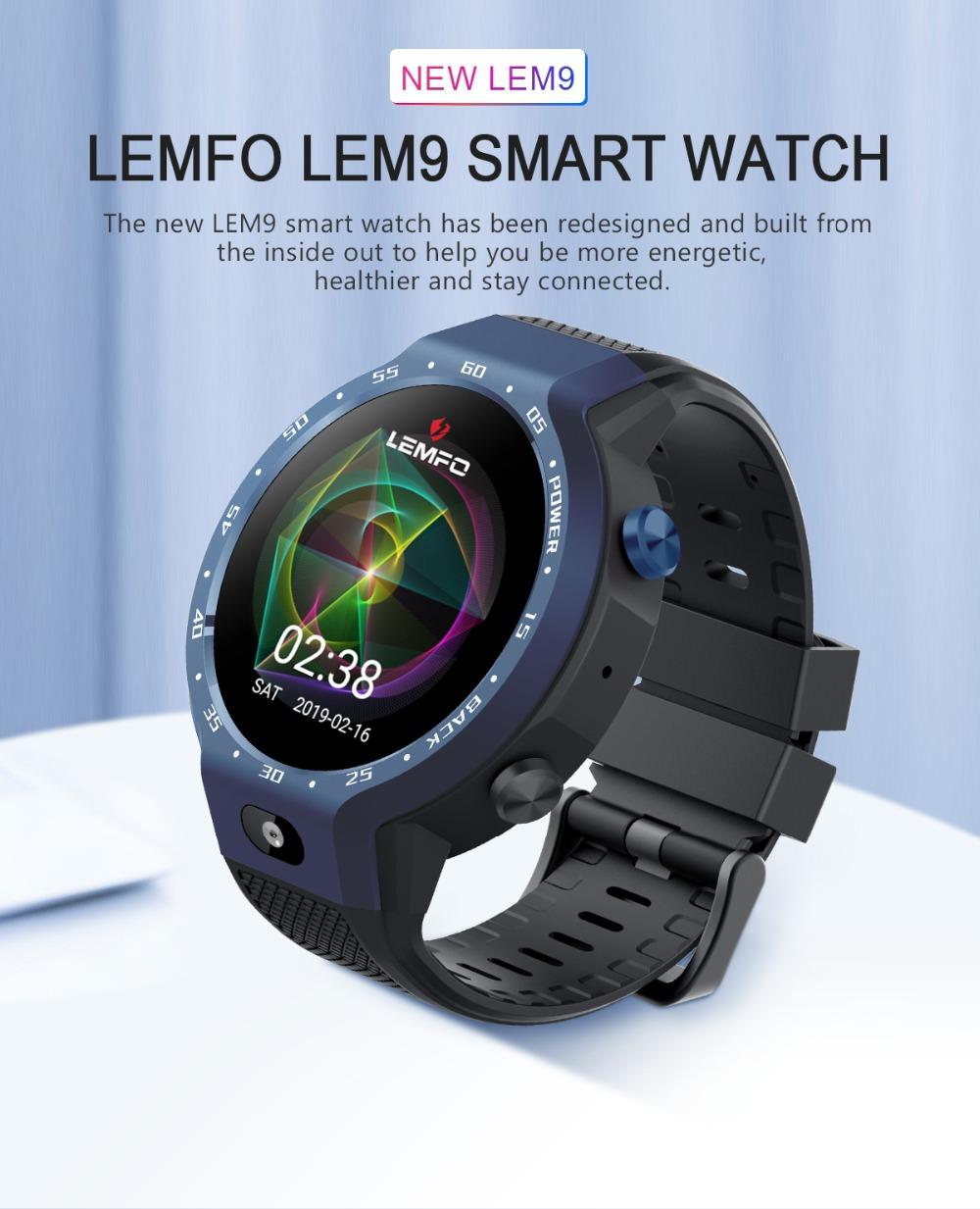 lemfo lem9 sports bluetooth smartwatch