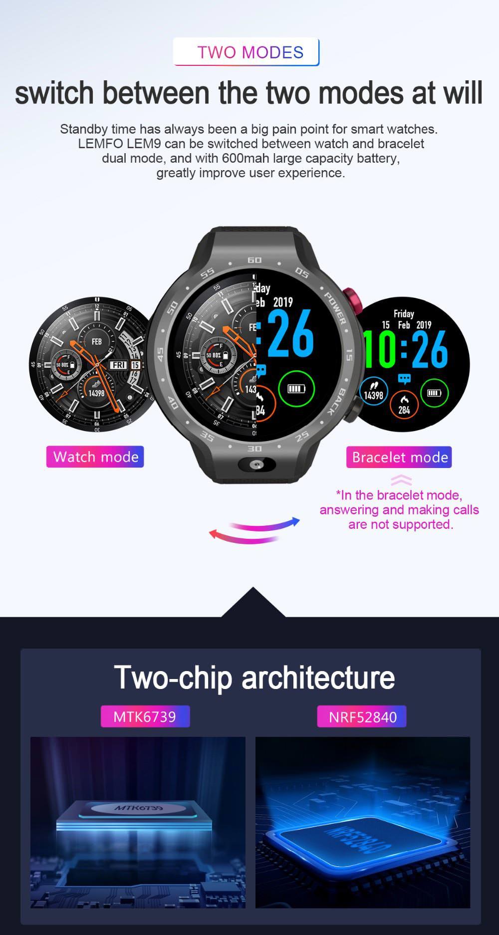 lemfo lem9 sports smartwatch