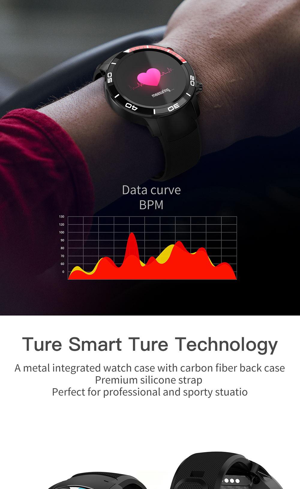 2019 microwear h8 smartwatch