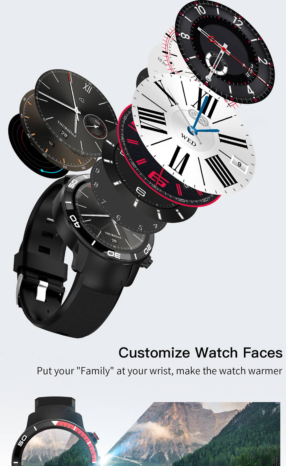 microwear h8 watch phone