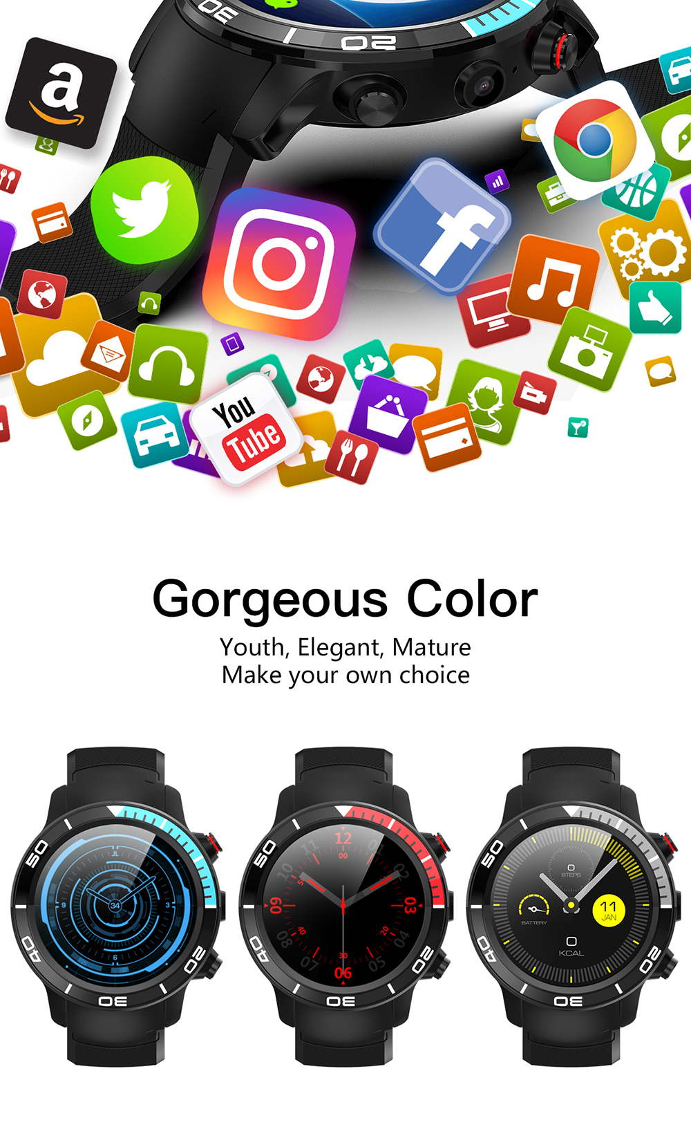 new microwear h8 watch phone