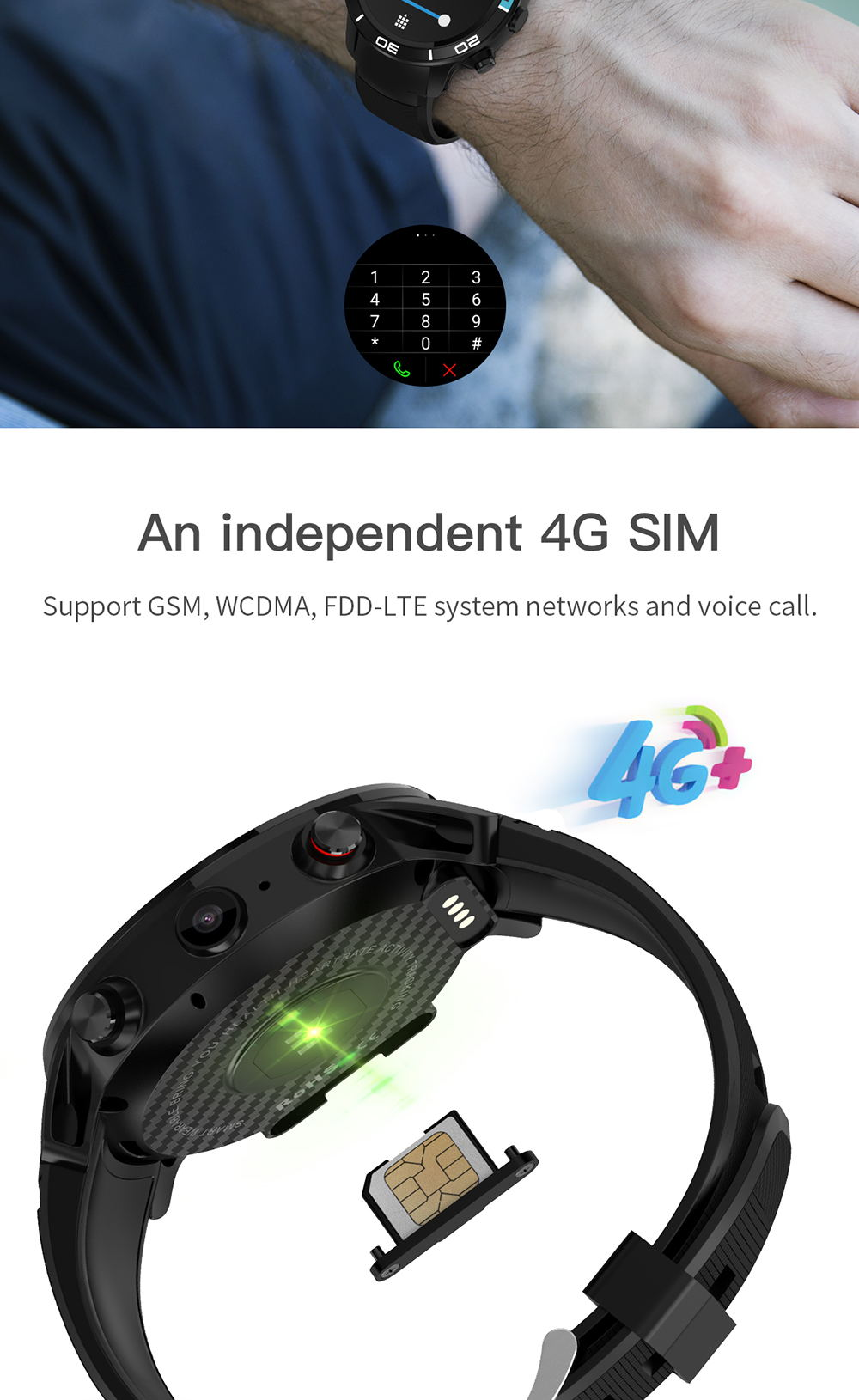 new microwear h8 4g smartwatch