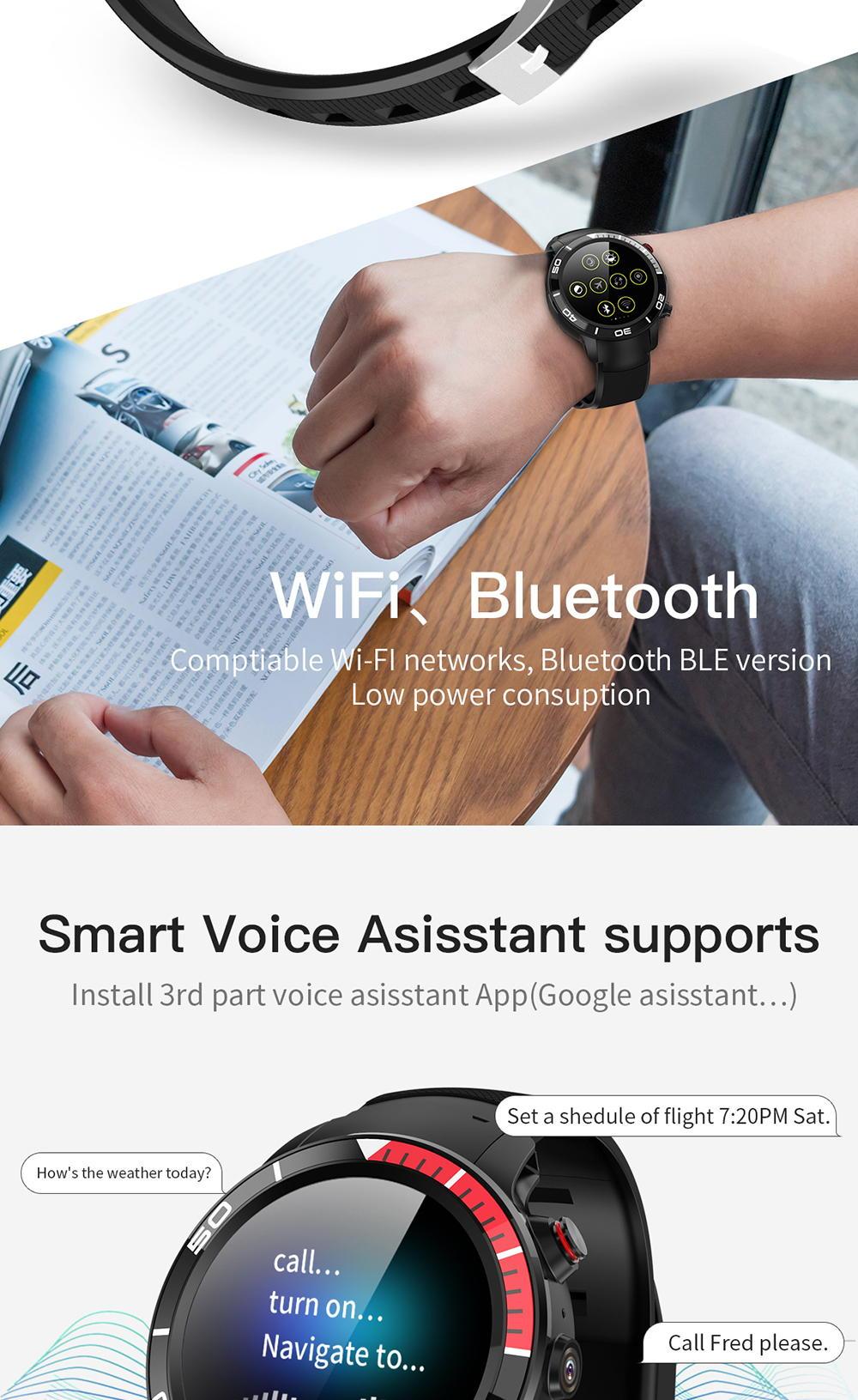 microwear h8 4g smartwatch for sale