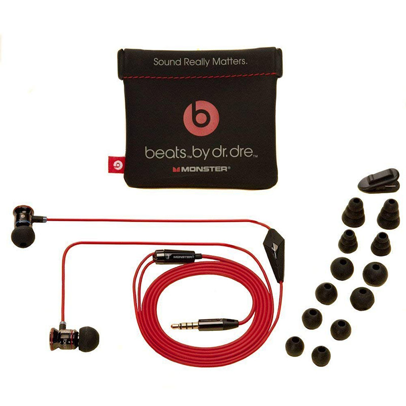ede41578bad Monster Beats by Dr Dre iBeats 3.5mm Wired In Ear Headphones with ...