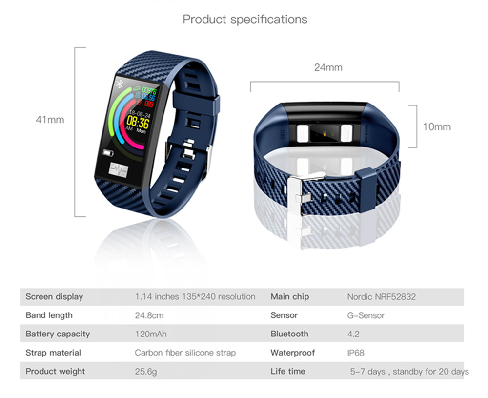 no.1 dt58 smart bracelet price