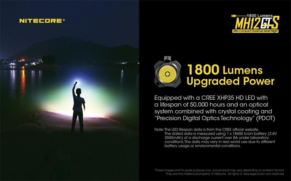 buy nitecore mh12gts flashlight