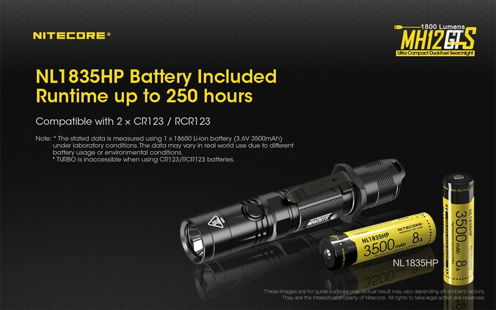 buy nitecore mh12gts flashlight online
