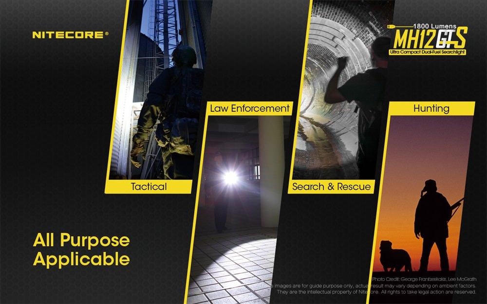 buy nitecore mh12gts mini flashlight