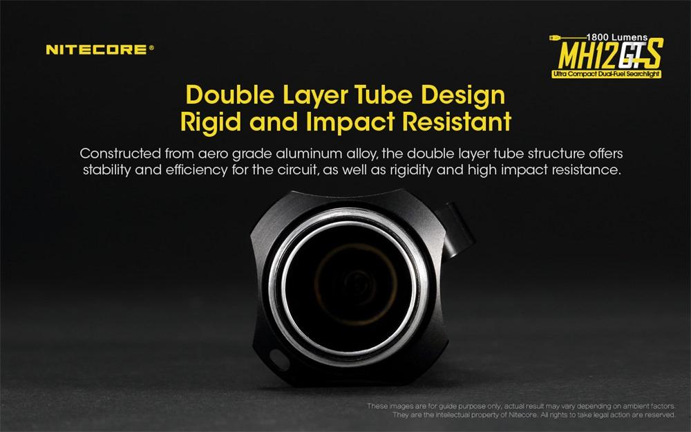 nitecore mh12gts mini flashlight price