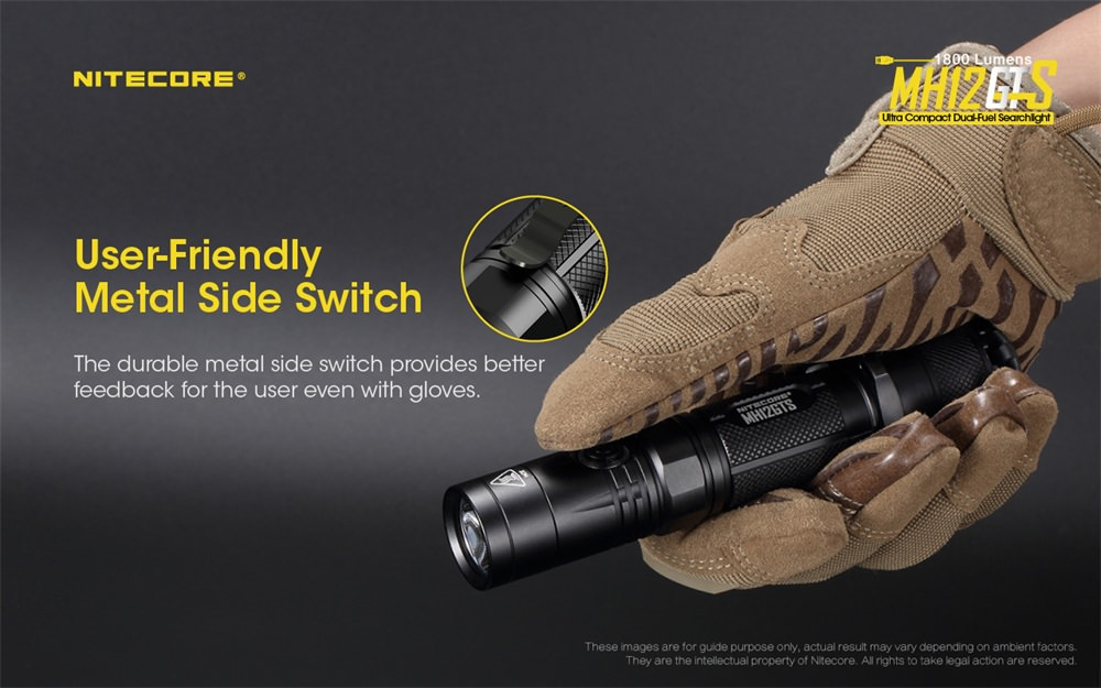 nitecore mh12gts mini flashlight sale