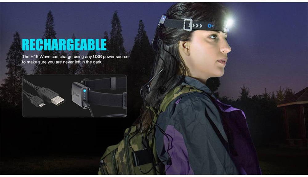 olight h16 wave flashlight online