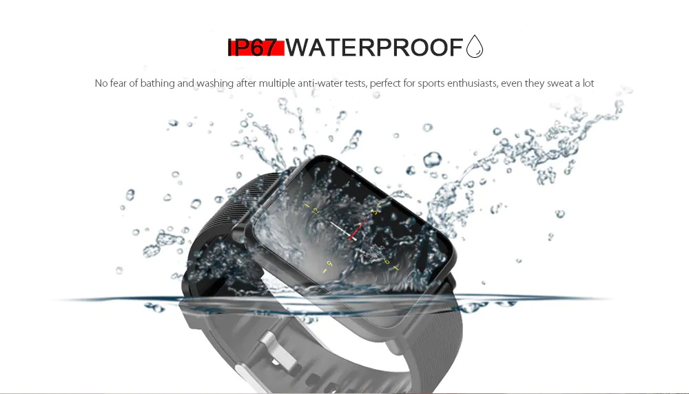 buy q9 waterproof sports smartwatch