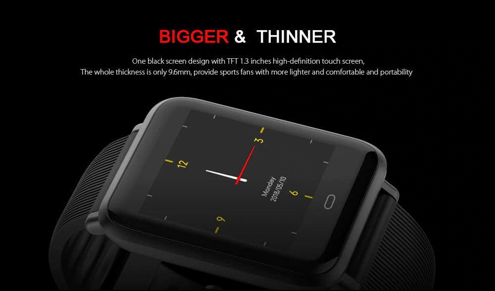 new q9 waterproof sports smartwatch