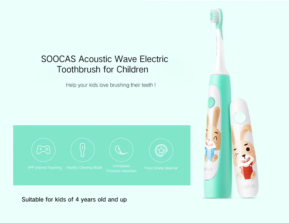 soocas c1 cute portable electric toothbrush