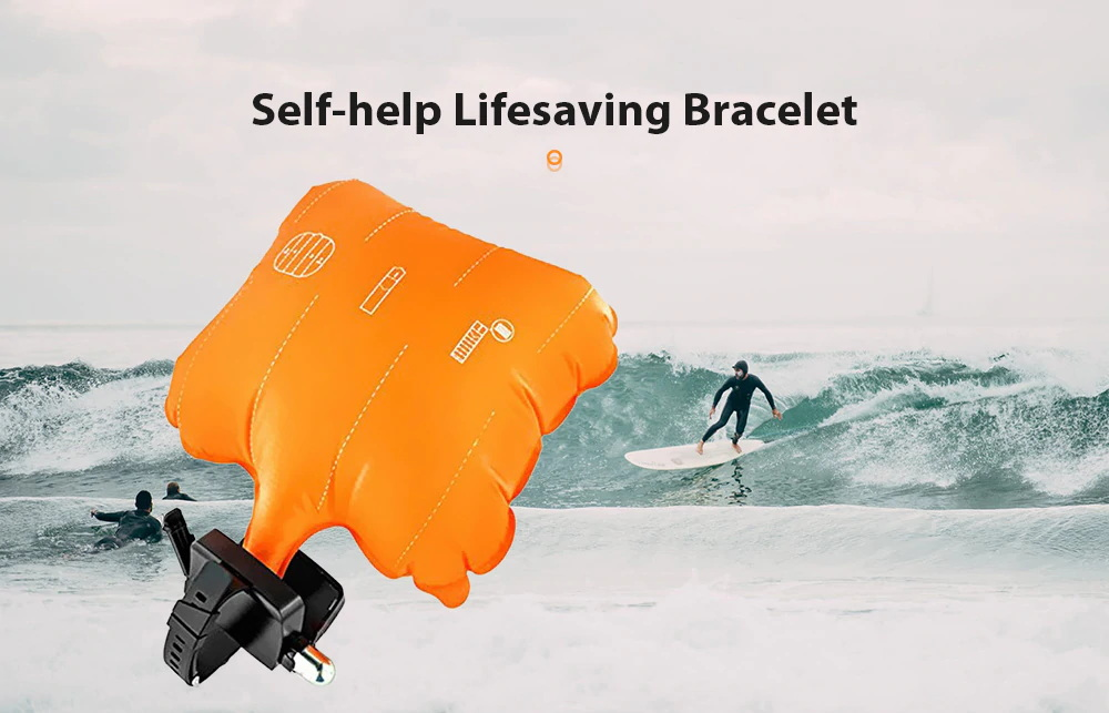 self-help lifesaving bracelet