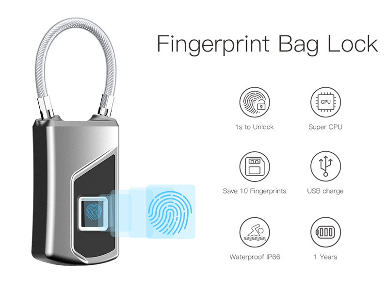 smart anti-theft fingerprint lock