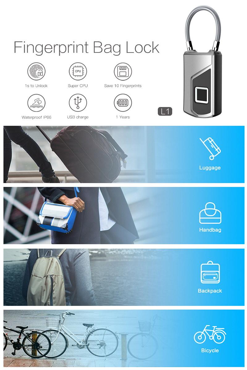 new smart anti-theft fingerprint lock