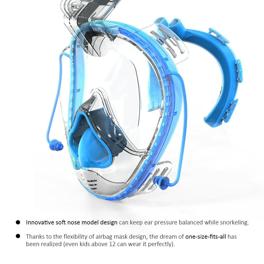 new snorkeling mask