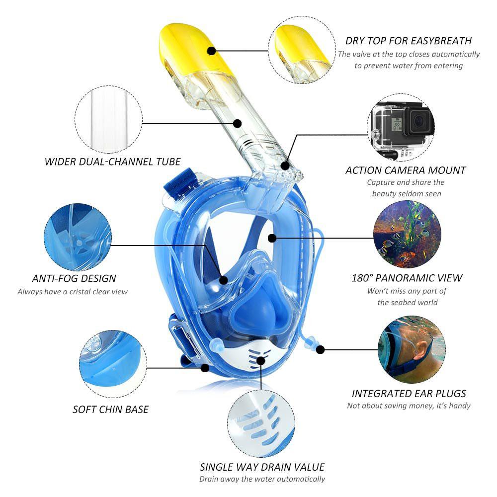 2019 snorkeling mask