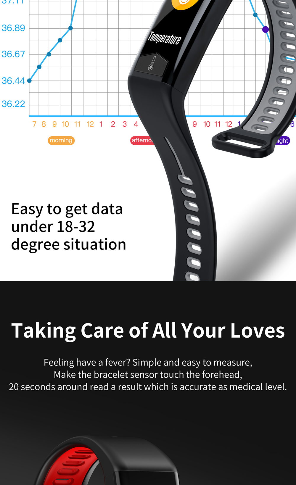 new t02 smart band