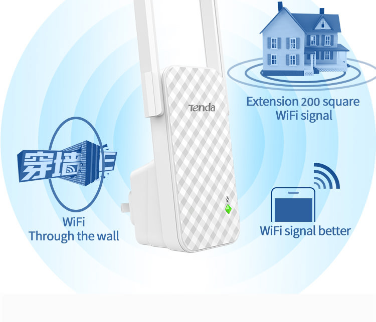 2019 tenda a9 wifi signal amplifier