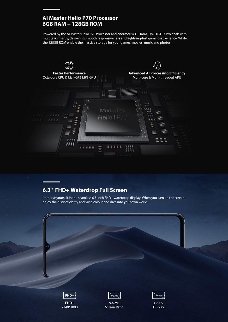 best umidigi s3 pro smartphone
