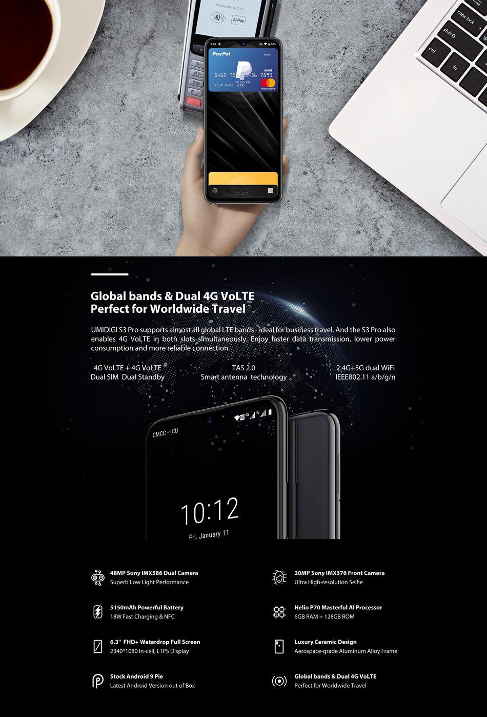 buy umidigi s3 pro 4g smartphone