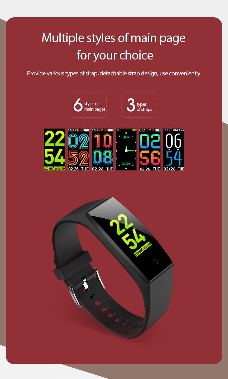 new v18 smart wristband