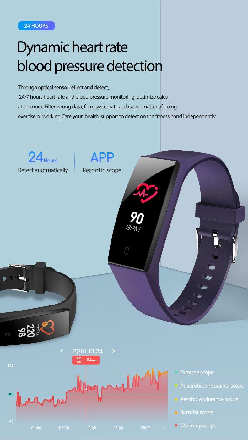 2019 v18 smart wristband