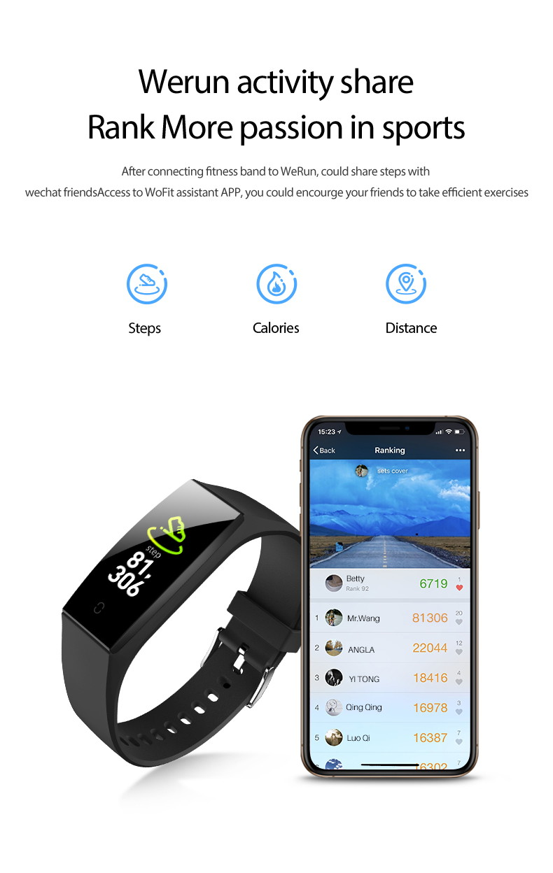 v18 smart bluetooth wristband
