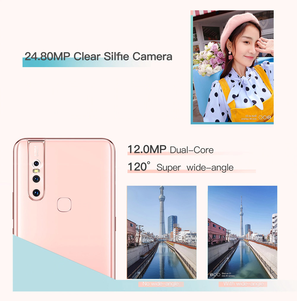 new vivo s1 smartphone