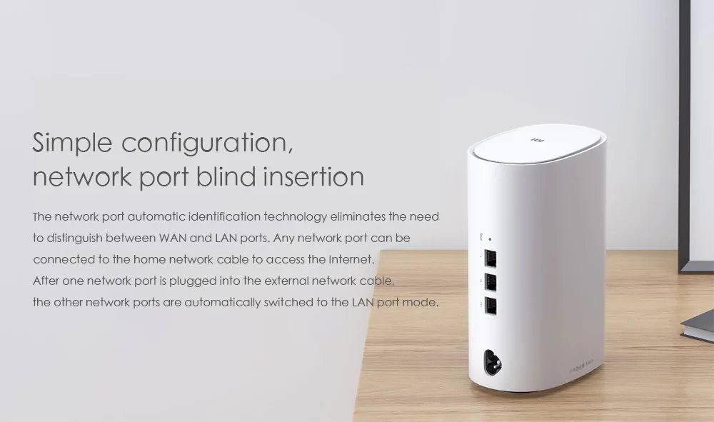 xiaomi mesh dual band wifi router for sale