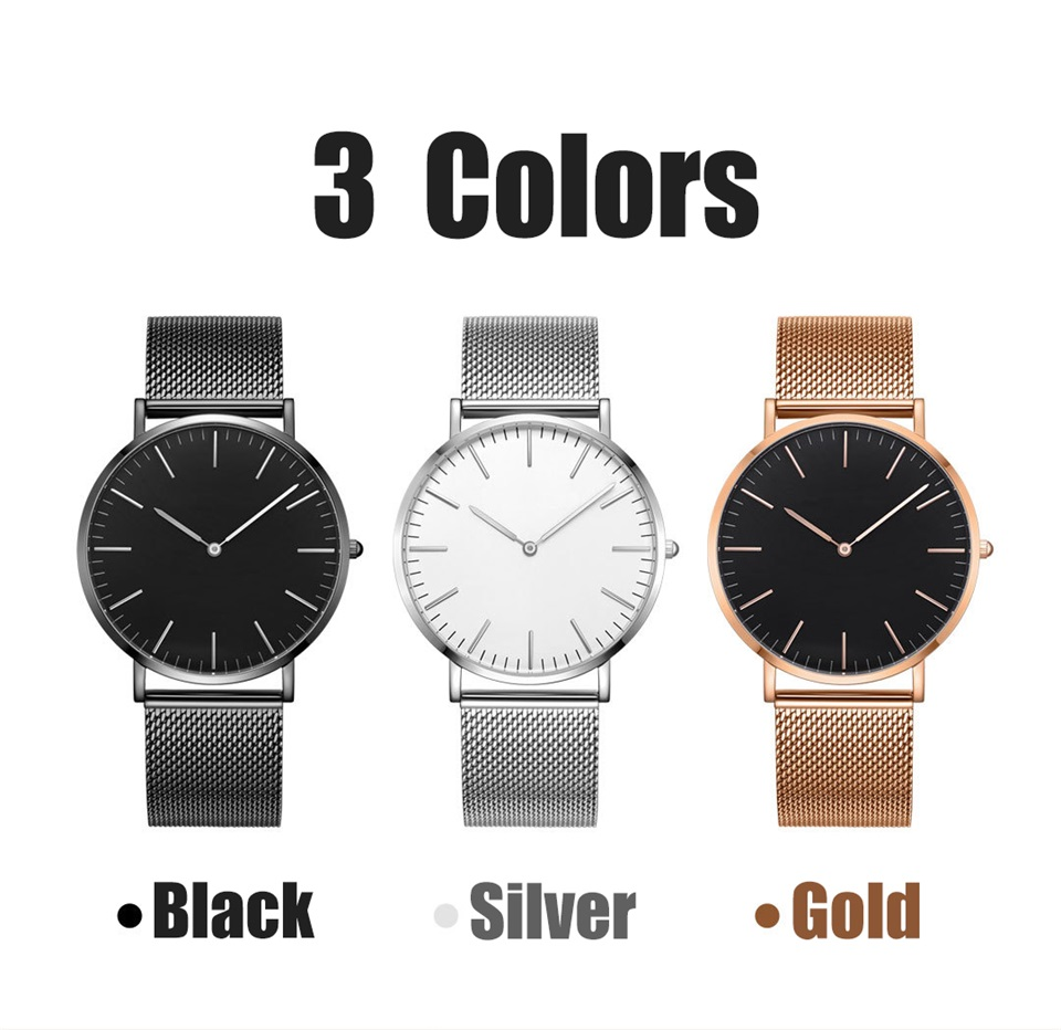 twentyseventeen ultra-thin men quartz watch