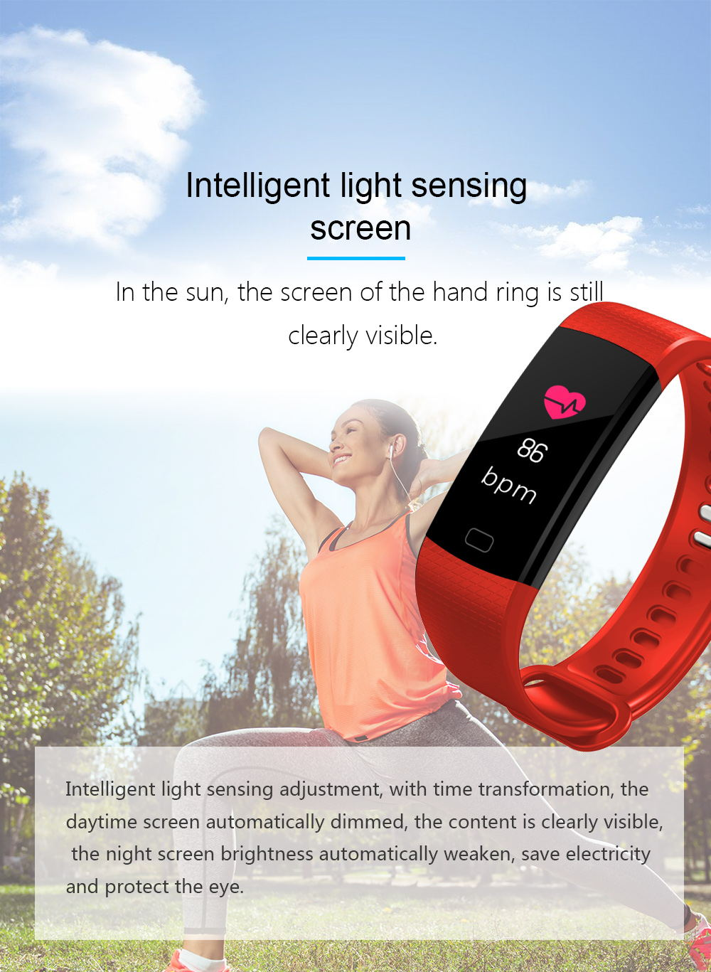 buy y5 smart bluetooth wristband