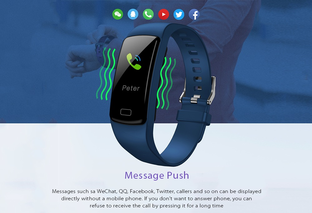 buy y9 smart bluetooth wristband