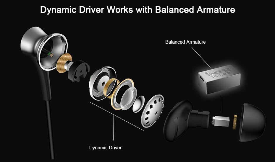buy 1more dual driver headphones