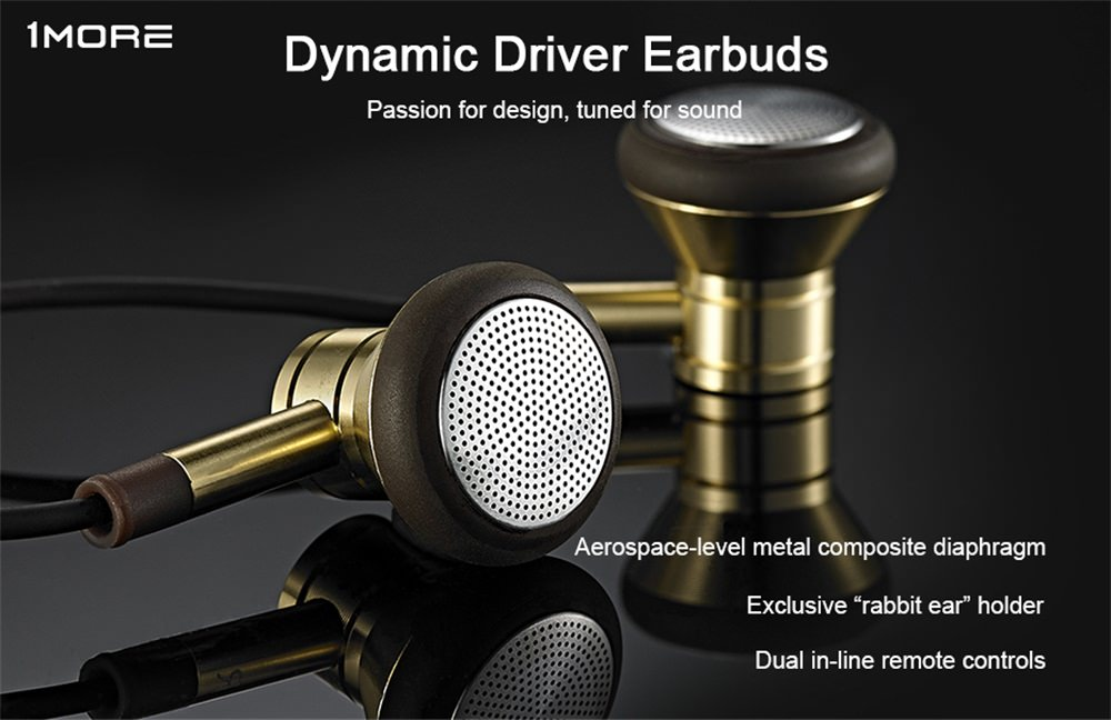 1more dynamic driver earbuds