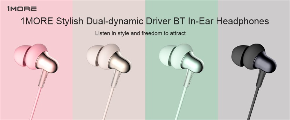 1more stylish bt in-ear headphone