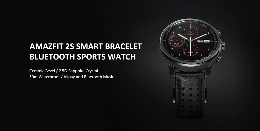 amazfit 2s bluetooth sports smartwatch