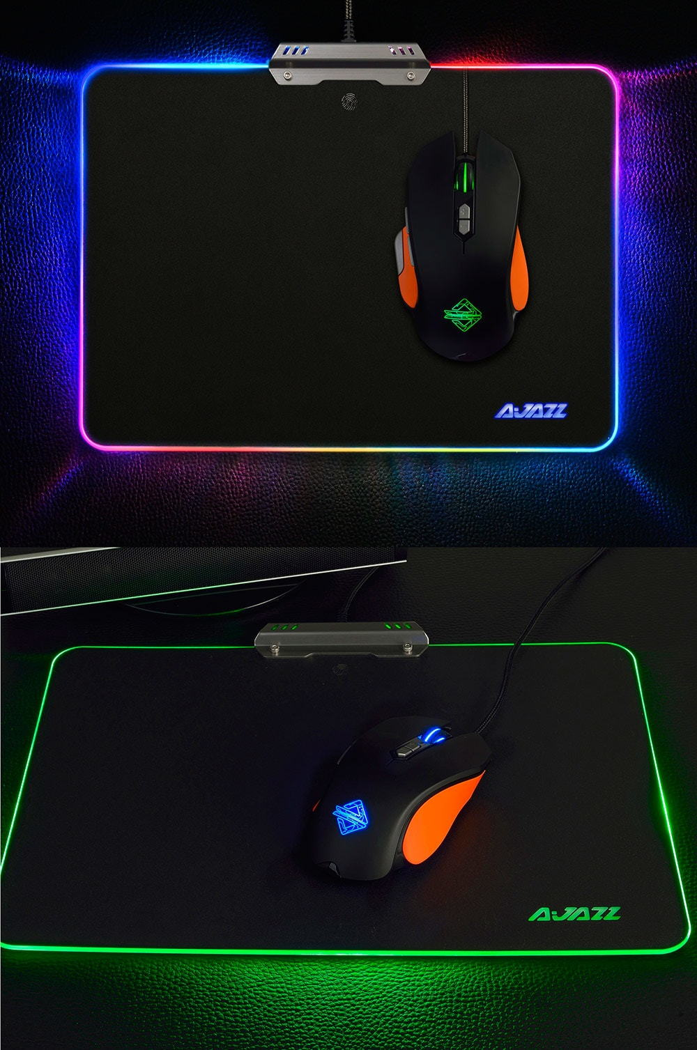ajazz mp02 ajpad rgb gaming mouse pad