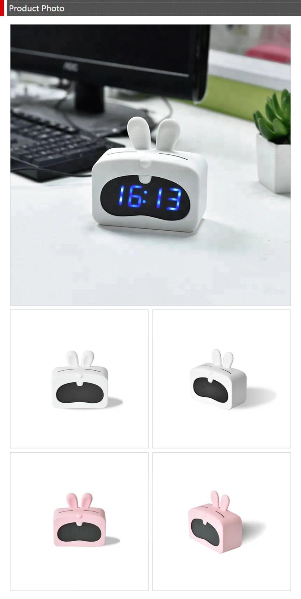 rabbit shape alarm clock