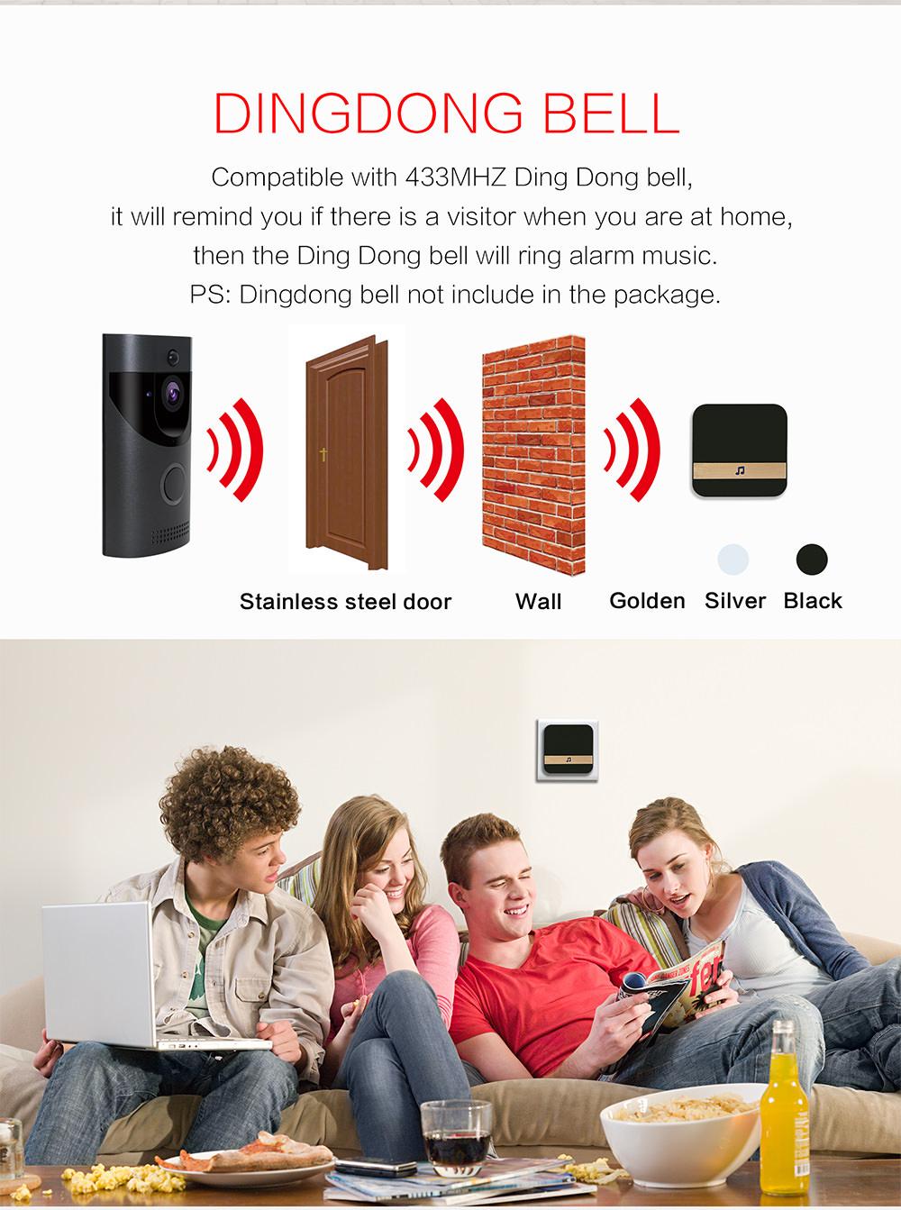 anytek b30 wireless doorbell