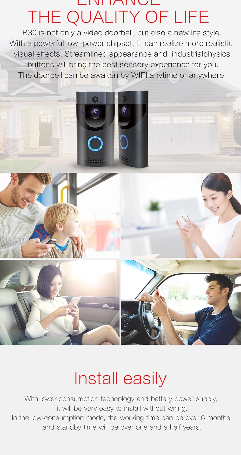 anytek b30 video doorbell