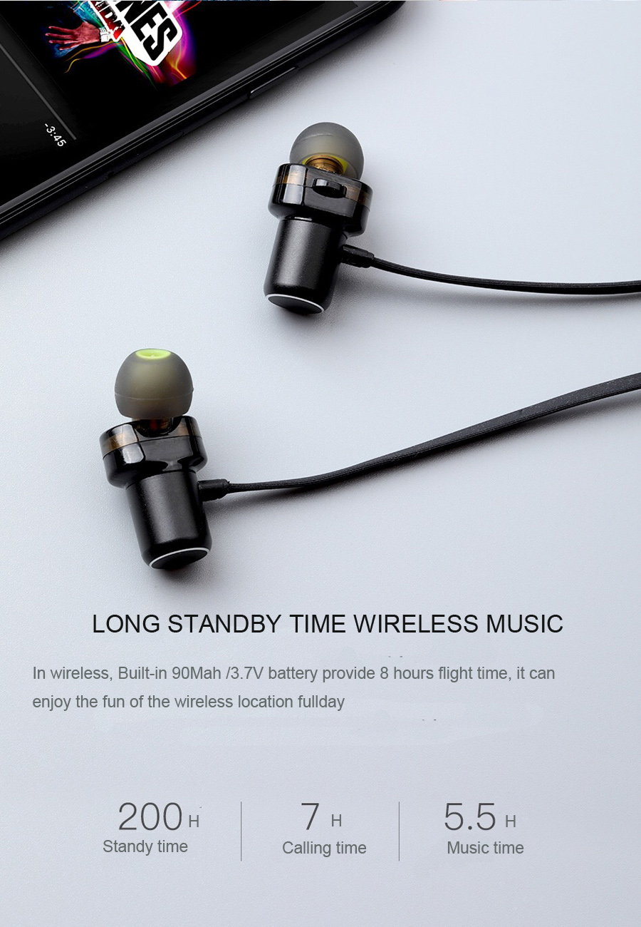awei x680bl wireless sports earphone