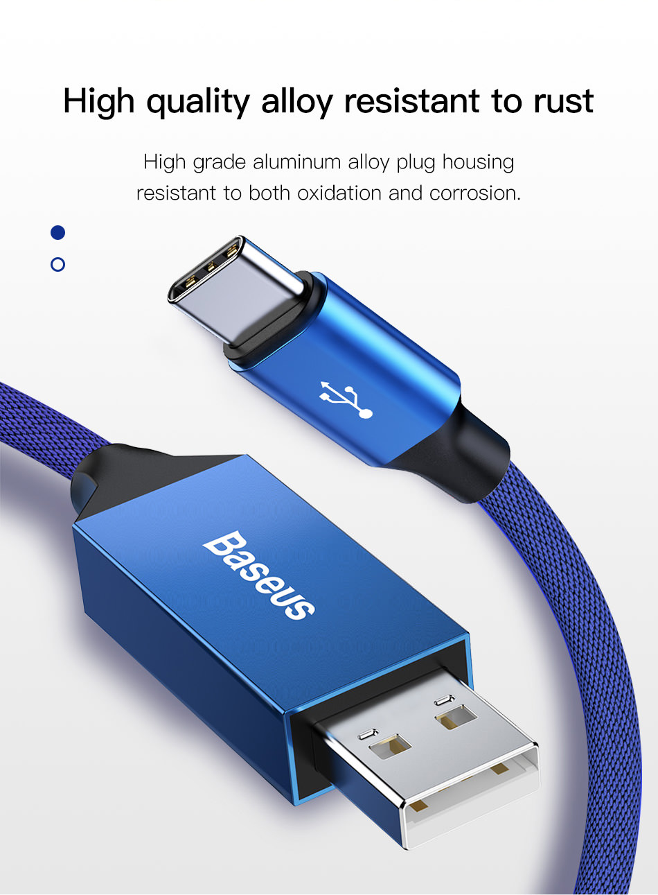 buy baseus 5m usb type c cable