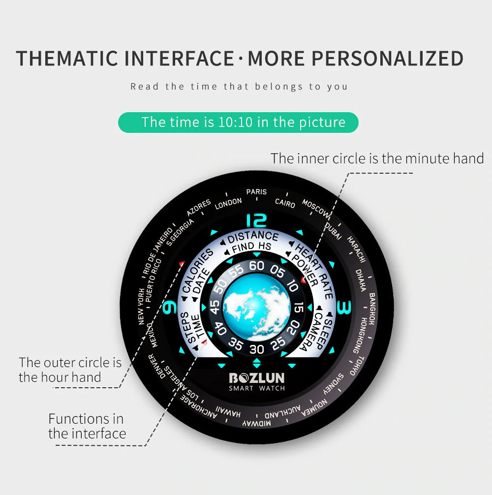 2019 bozlun w30 smartwatch