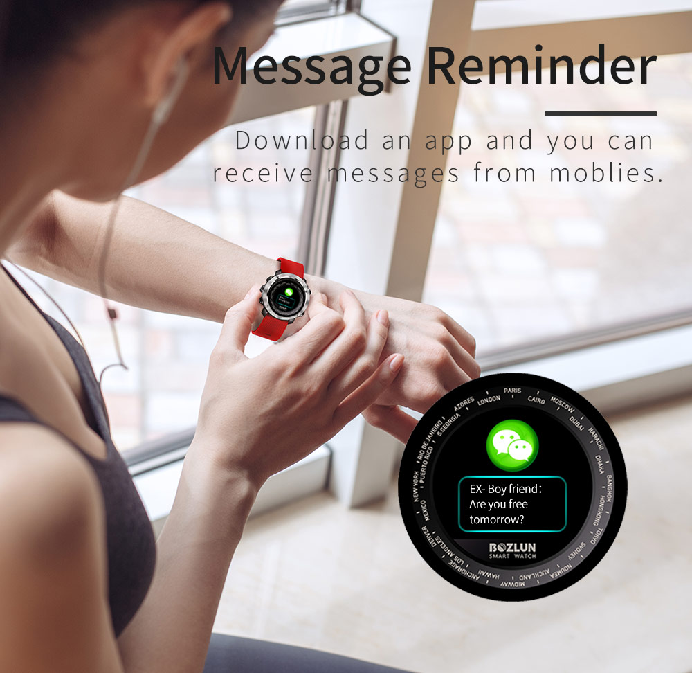 2019 bozlun w30 sports smartwatch