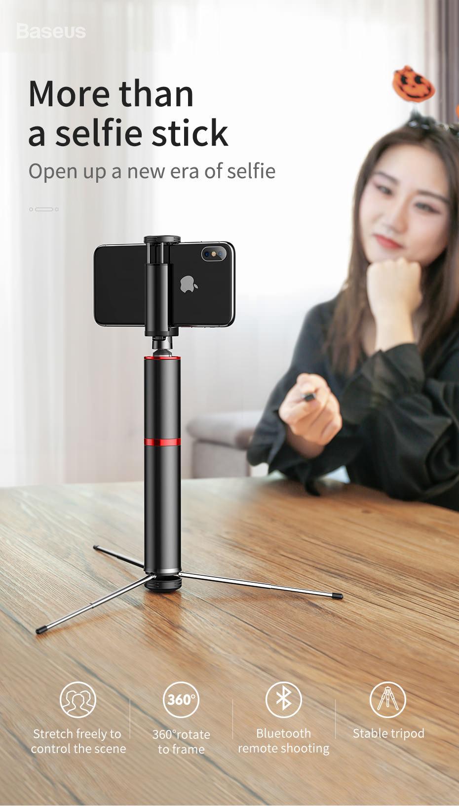 baseus intelligent selfie stick